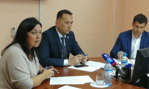Заместитель губернатора по строительству Андрей Воронов