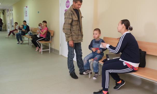 За неделю врачи новой поликлиники в Соликамске приняли 1400 детей