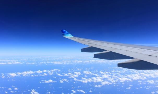 Пассажирский самолет совершил аварийную посадку в Рощино