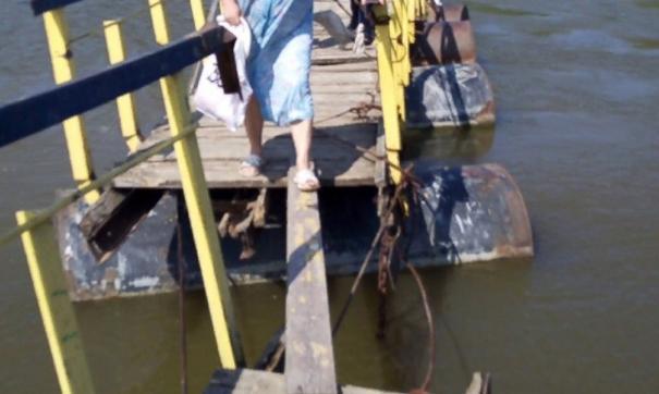 Местные жители не раз указывали администрации Ишима на аварийное состояние объекта