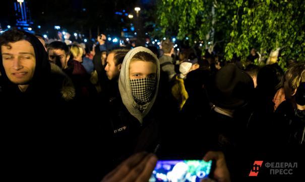 У  «Рустави 2» в Тбилиси проходит стихийный митинг
