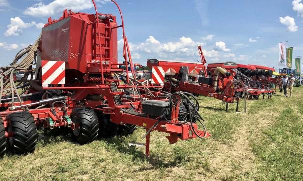 В экспозиции будет представлено более 120 единиц сельхозтехники