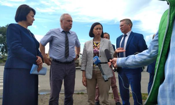 Наталья Котова инспектирует районы Челябинска
