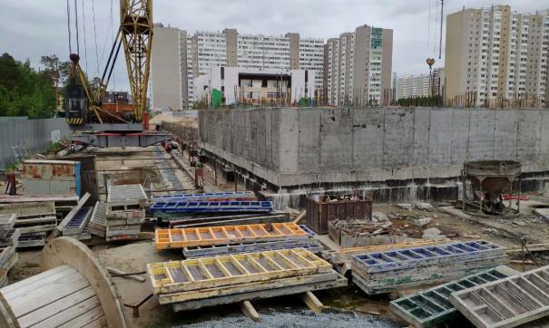 Сургутяне жалуются на шум от строительных работ по возведению