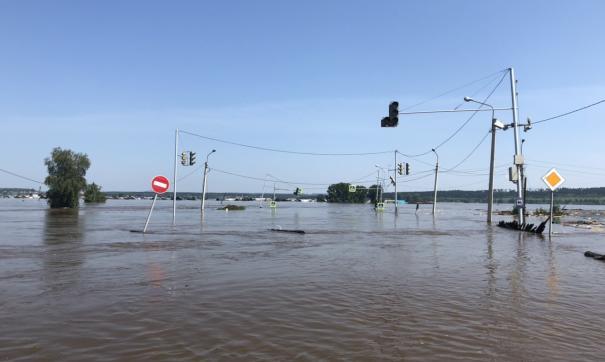 В Амурской области залило водой 120 домовладений