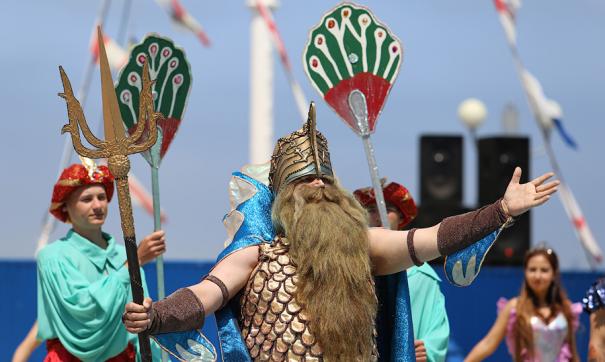 Участие царя Нептуна в празднике – старая флотская традиция