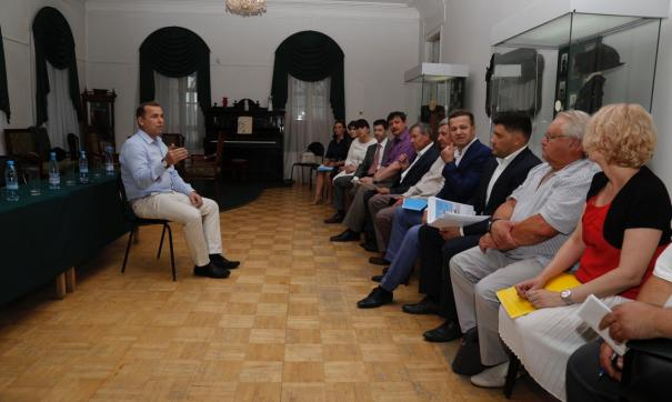 Вадим Шумков встретился с группой общественников