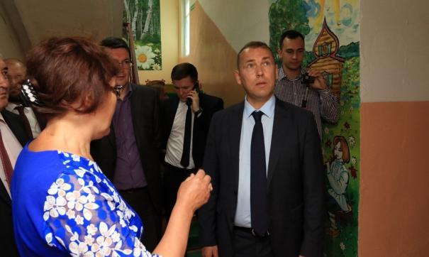 Вадим Шумков побывал с визитом в Альменевском районе