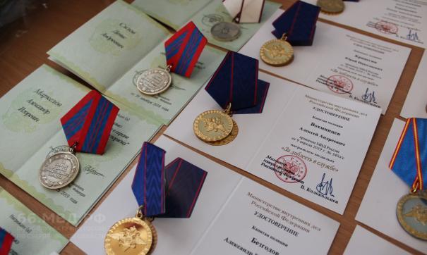 Свердловским сотрудникам МВД вручили награды