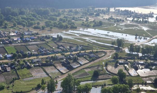 В Иркутской области в 107 населенных пунктах за время июньского паводка было подтоплено 10,8 тысяч жилых домов