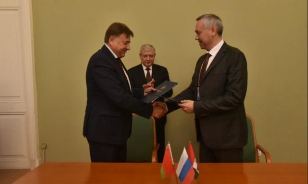 Белоруссия и Новосибирская область усиливают сотрудничество, активизируя работу по целому ряду ключевых направлений