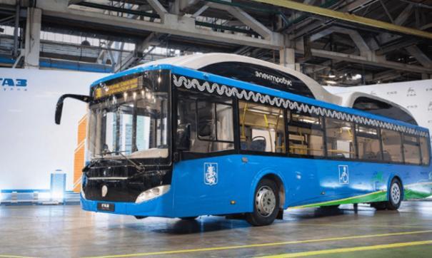 Весной этого года в Омск прибыл первый опытный образец электробуса