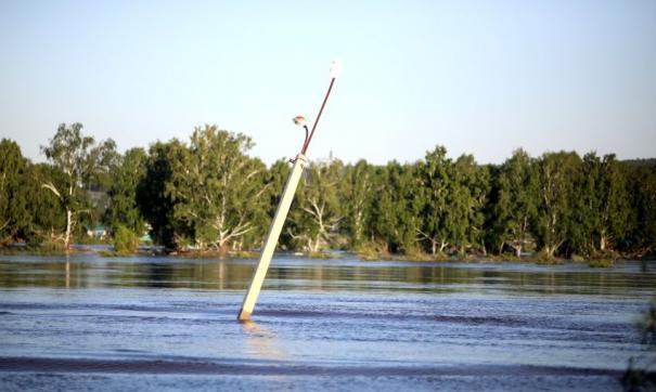 Наводнение в Приангарье