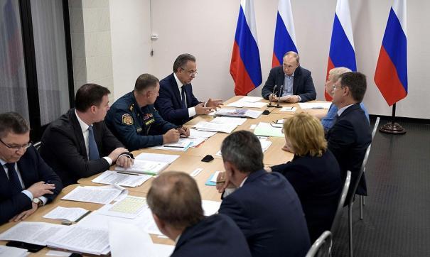 На совещании о ликвидации последствий наводнения в Иркутской области