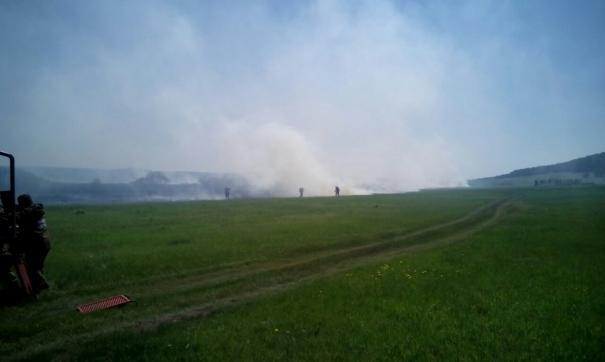 Пожары в Приангарье