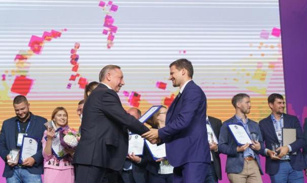 Александр Беглов наградил победителей кадрового конкурса
