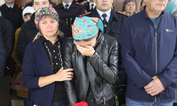 Похороны полицейского