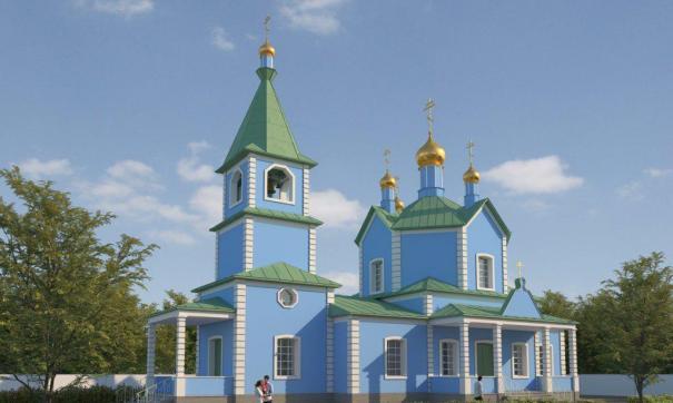 Предполагается, что будет восстановлен не только сам храм, но и чудотворная икона, которая сильно обгорела при пожаре