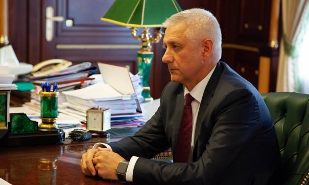 Сергей Бердников приступил к обязанностям с сегодняшнего дня
