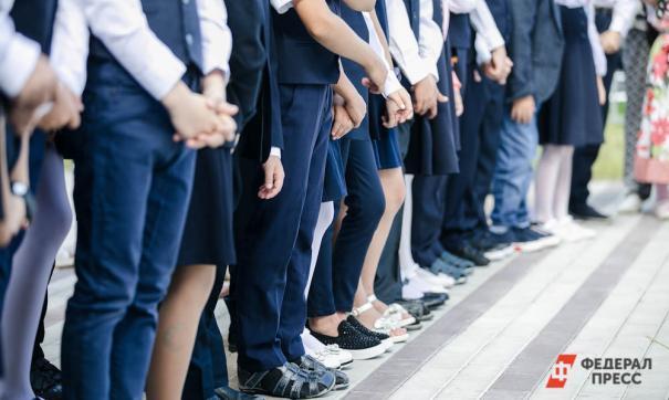 ЕР сообщает: школьная форма не должна состоять на 100 % из полиэстера