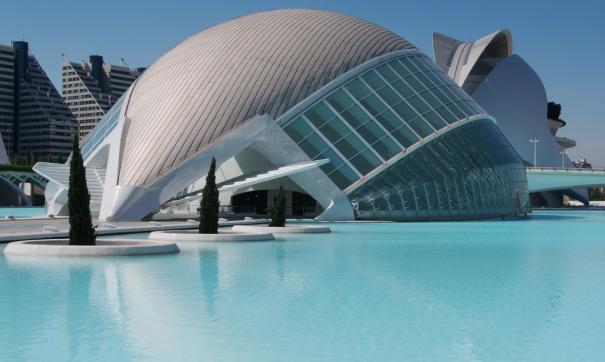 Город искусств и наук. Испания.