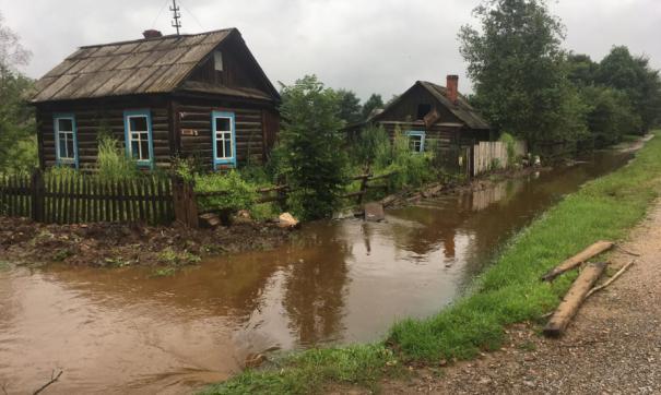В Хабаровском крае вода накрыла еще один поселок