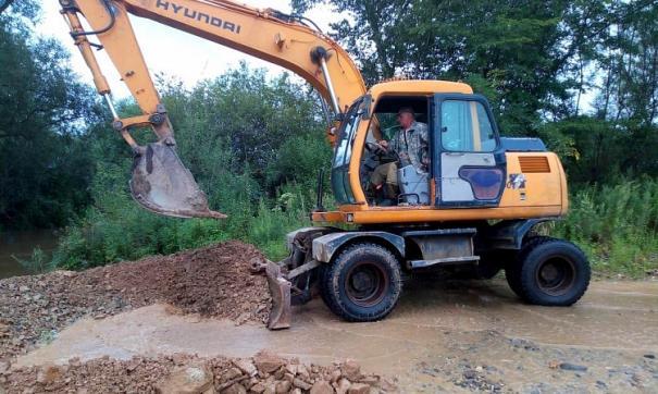 В Приморье из-за паводка заблокированы дороги в девяти районах