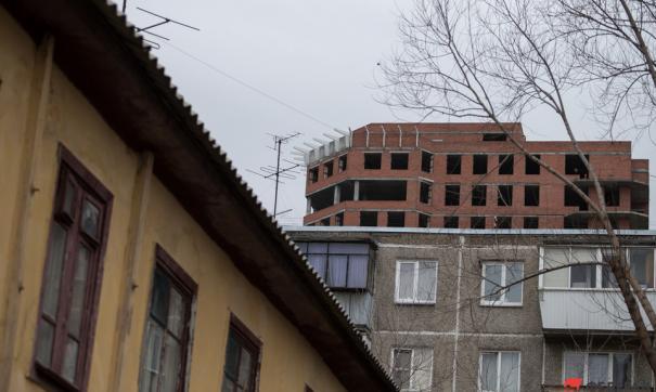 В Чите обрушился жилой дом