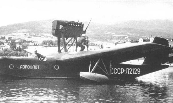 Летающие лодки МП-1бис строились в СССР с 1932 по 1940 год