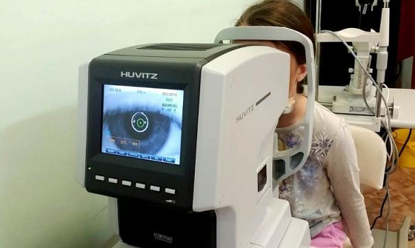 Бесконтактная диагностика зрения доступна 14 тысячам местных детей
