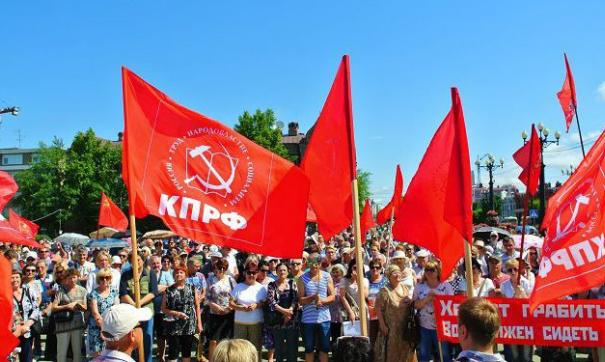 Поводом для протестов стало снятие с выборов ряда кандидатов от партий