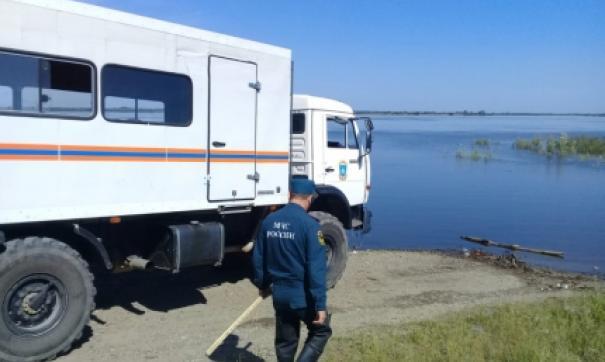 Уровень Амура в районе Хабаровска достиг отметки в 443 сантиметра
