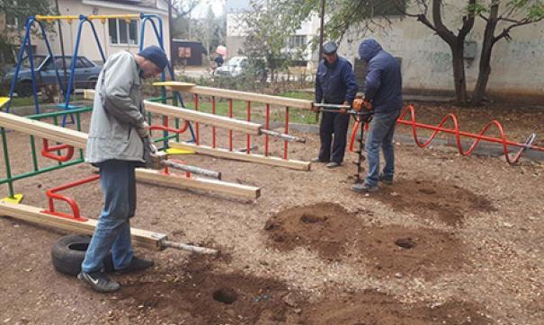 В Октябрьском округе Иркутска обустроят 17 дворов