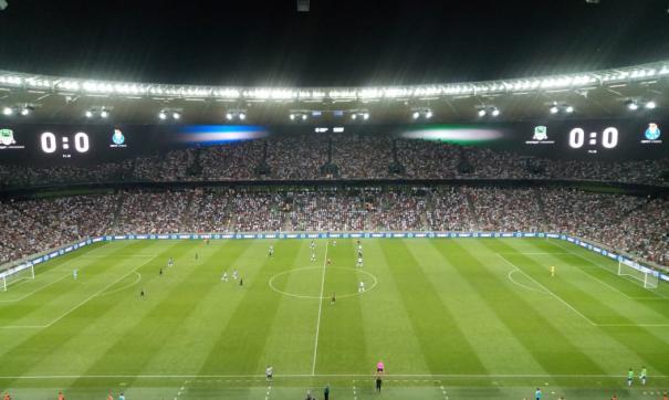 ФК «Краснодар» проиграл португальскому «Порту» со счетом 0:1.