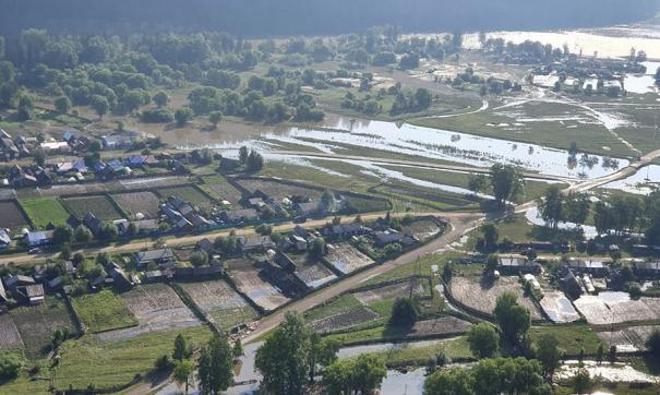 В конце июля в Приангарье началась вторая волна паводка
