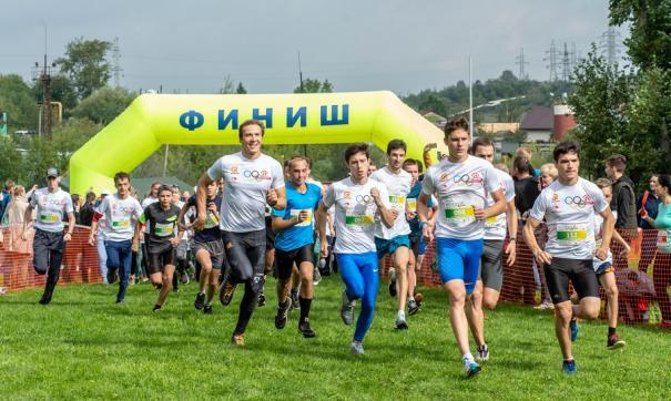 Забег стал первым благотворительным мероприятием фонда Альберта Демченко