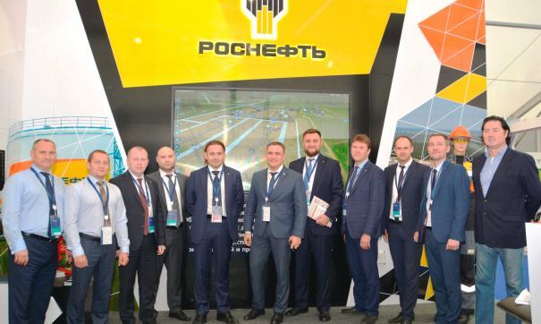Делегация «Тюменнефтегаза» выступила на полях ТНФ-2019