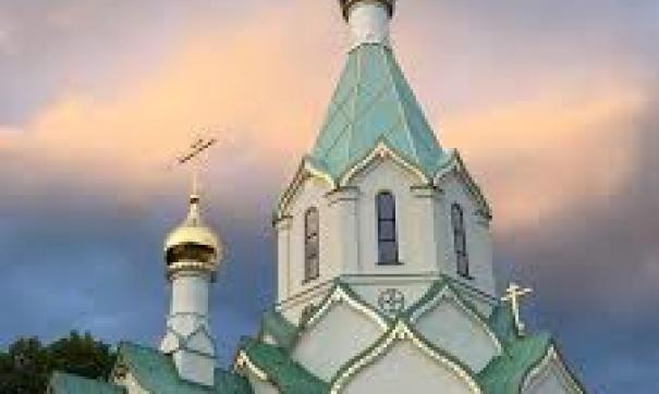 Церковь Всех Святых была впервые заложена в 1779 году в Тюмени