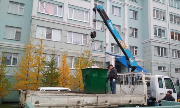 Городские службы уже отправились «ковыряться» в контейнерах
