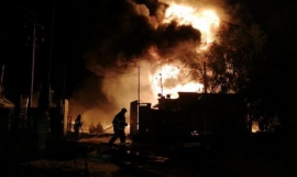 На складе ГСМ в Нижегородской области ликвидировано открытое горение