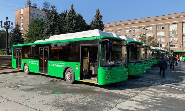 Прокатиться на новых автобусах можно будет к концу этой недели