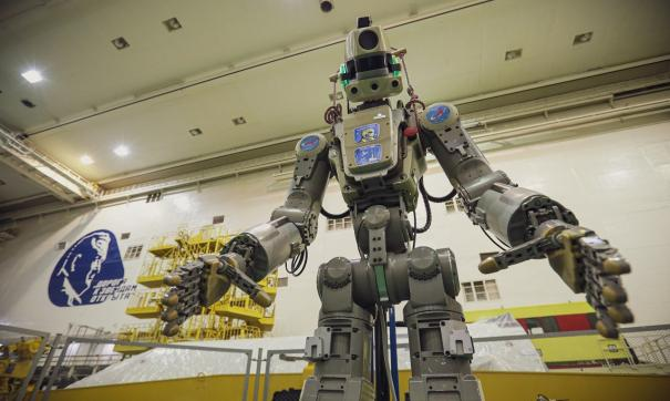 Антропоморфный робот Skybot F-850, именуемый Федор