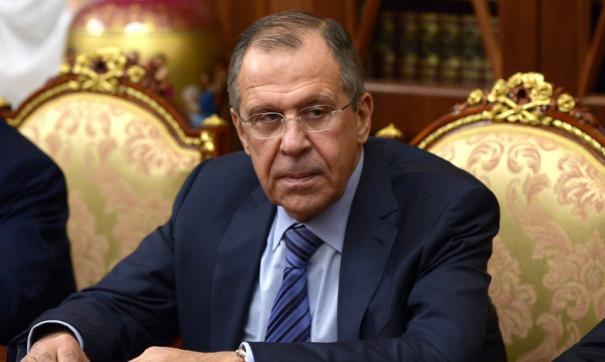Глава МИД Сергей Лавров.