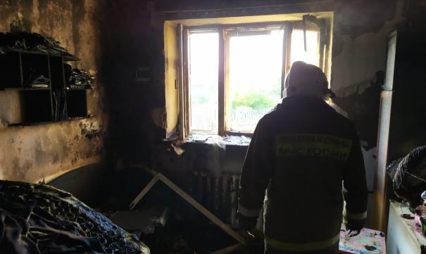Сообщение о пожаре поступило сегодня утром