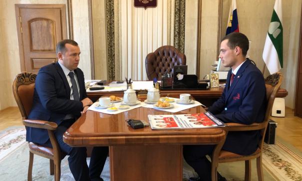Вадим Шумков лично поздравил серебряного призера соревнования