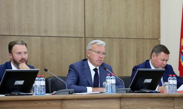 Усс на губернаторском совете