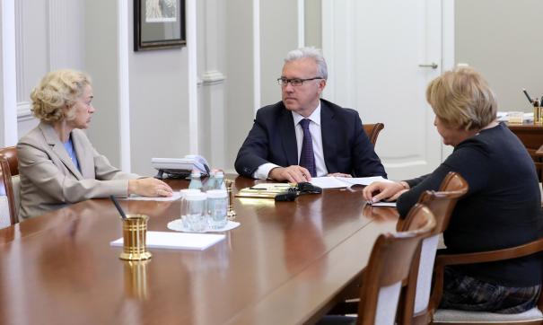 Усс встретился с министром образования