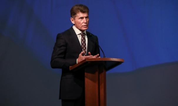 Губернатор Олег Кожемяко