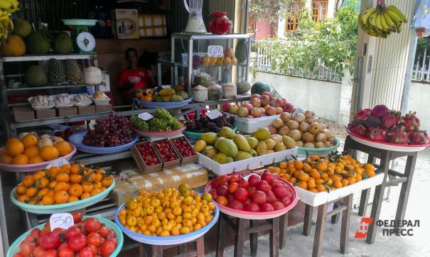 Нелегальные фрукты изъяли в Ижевске