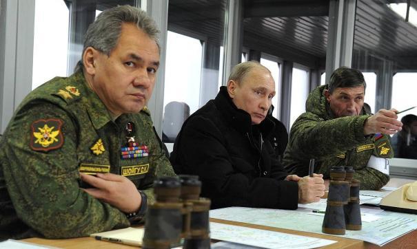 Путин следит за активной фазой «Центра-2019» на полигоне Донгуз